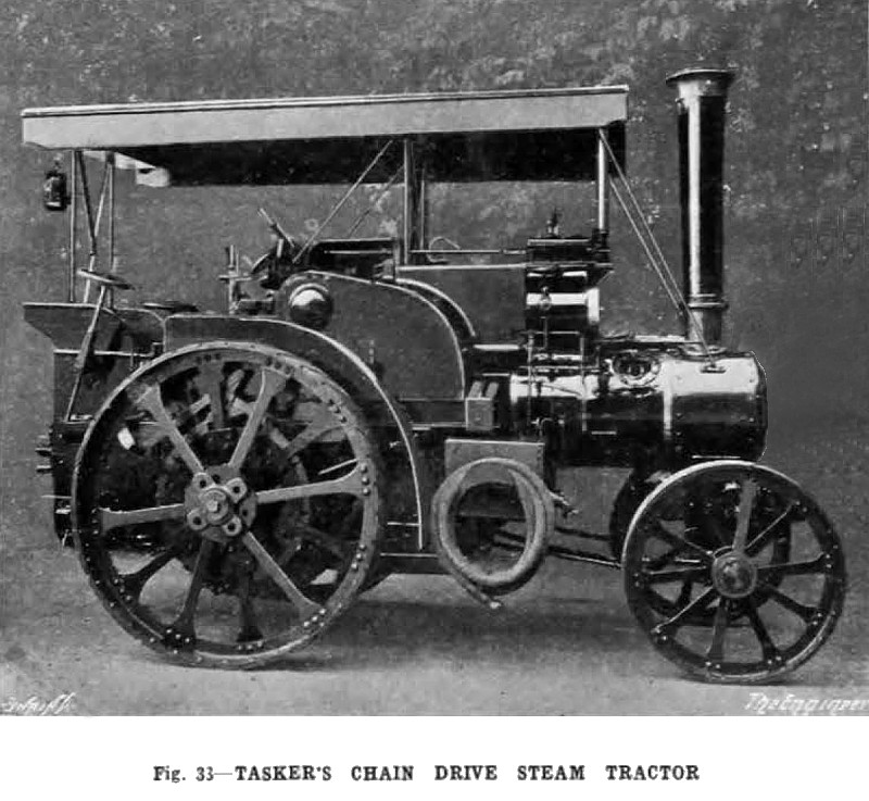 Drive Chain Tractor : W tasker sons article chain