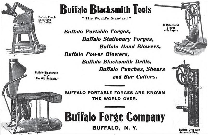 Buffalo Forge Co 1901 Ad Buffalo Forge Co Blacksmiths