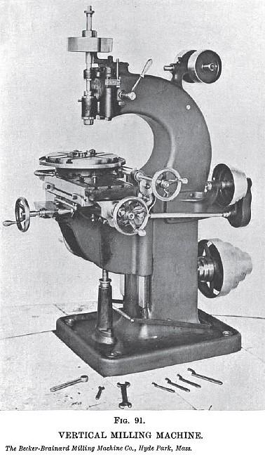 becker milling machine