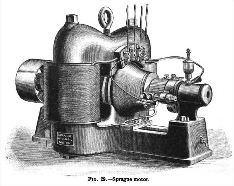 Sprague Electric Railway & Motor Co. made Sprague Electric Motors in ...