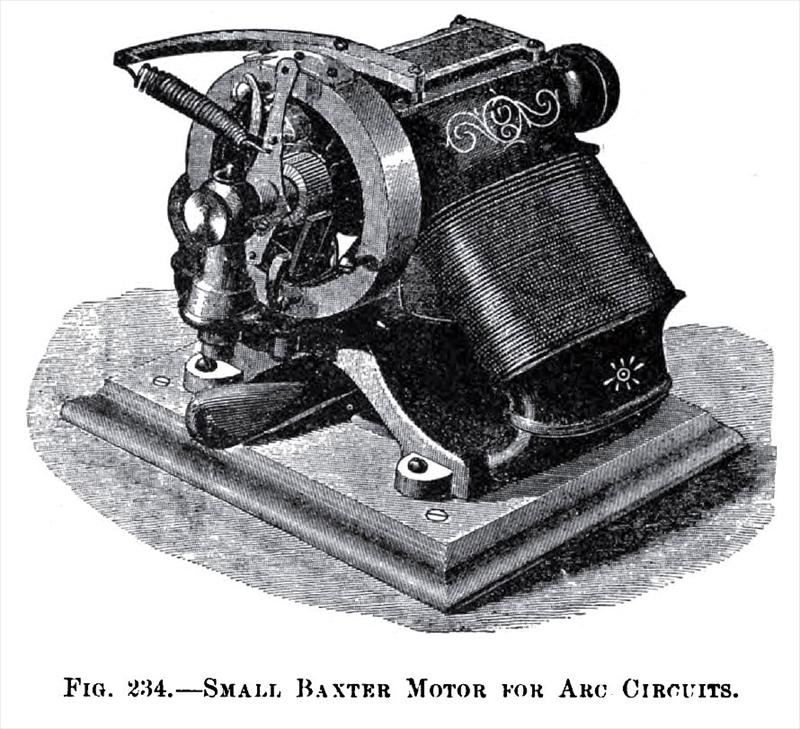 Baxter electric manufacturing motor co 1888 images for Electric motor repair baltimore