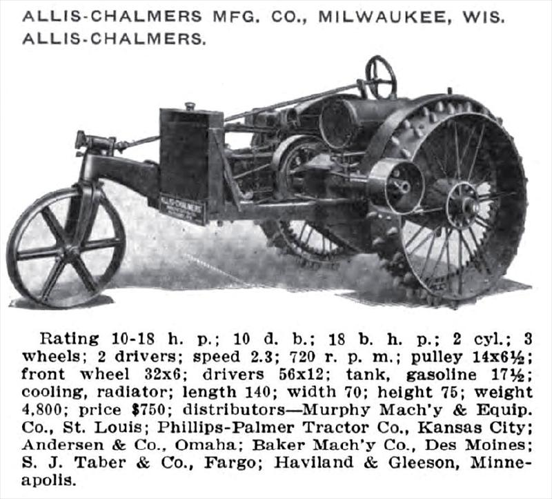Allis-Chalmers Manufacturing Co. - 1916 Image-Allis-Chalmers Mfg. Co ...