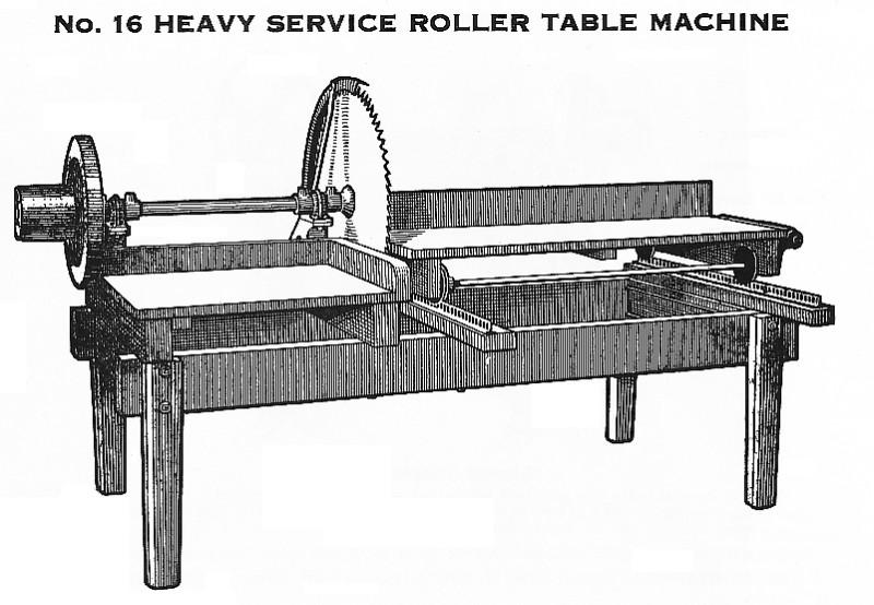 Eddy Plow Co  - Eddy Plow Works, #16 Heavy Service Roller