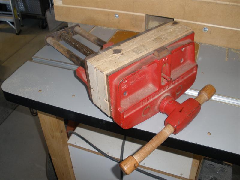 10 Craftsman Woodworking Vise Us 75 00 Bakersfield Calif