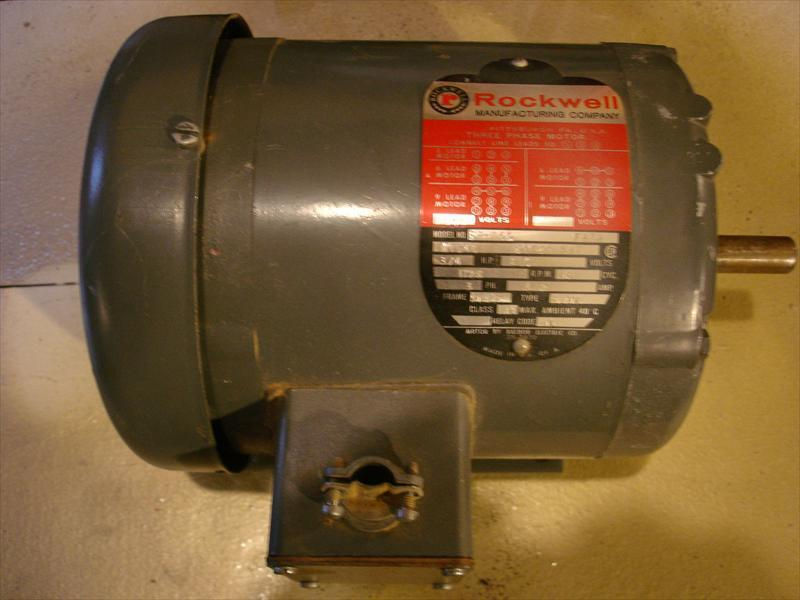 Rockwell 3 4 Hp 3 Phase Motor Us Haddonfield