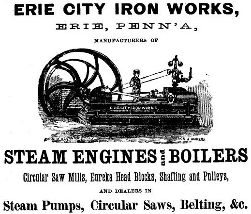 Erie City Iron Works - History | VintageMachinery.org