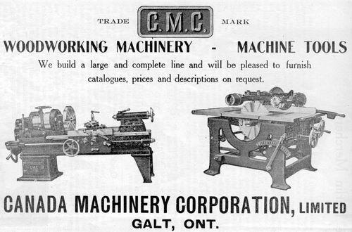 Canada Machinery Corp Ltd Cmc History
