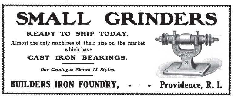 Builders Iron Foundry History Vintagemachinery Org