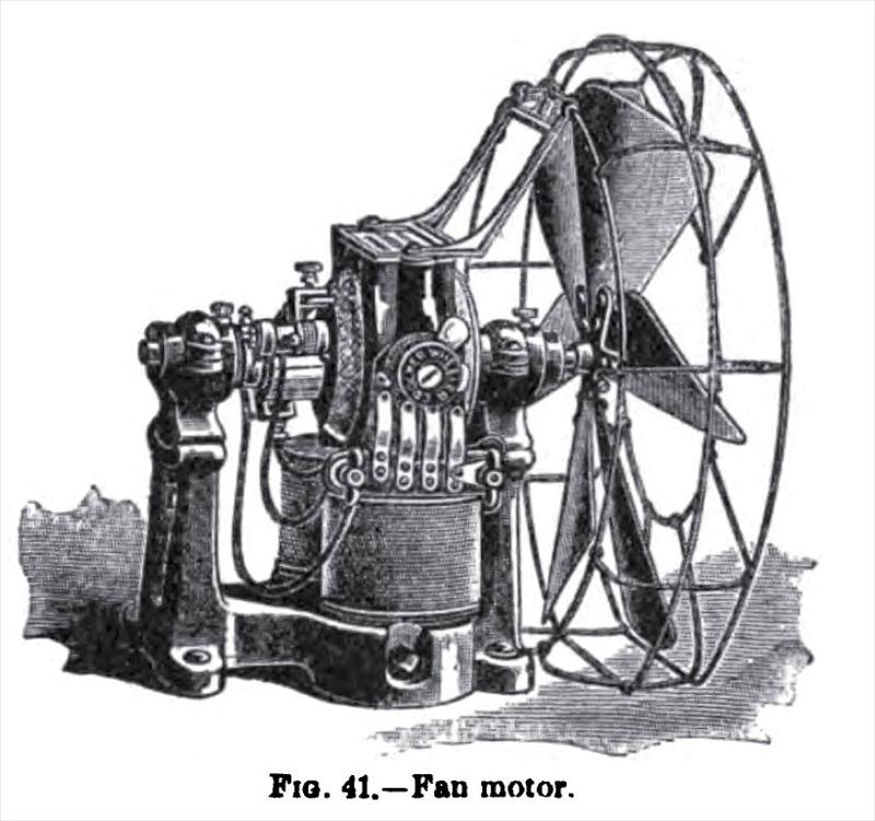 History About The Electric Fan : Crocker wheeler electric co history vintagemachinery