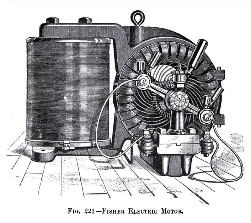fisher electric motor co history