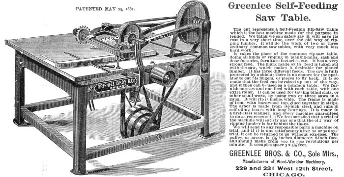 Greenlee Brothers Co History Vintagemachinery Org
