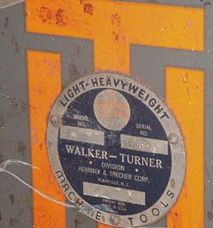 Photo Index Walker Turner Co Inc Frame Type 3b