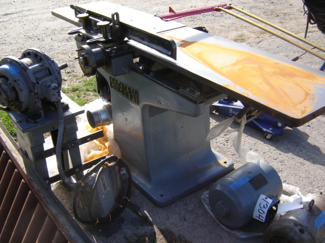 Photo Index J A Fay Co 16 Jointer Planer