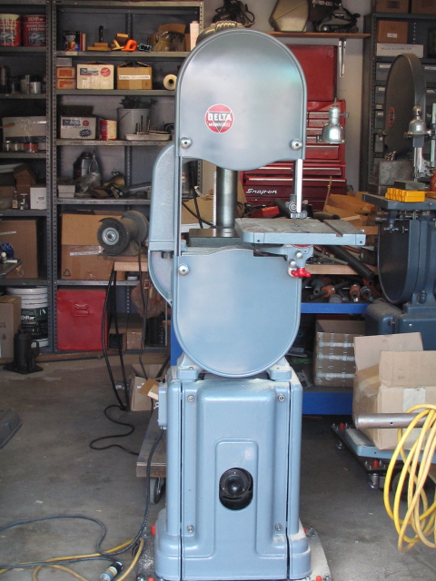 Photo Index Delta Manufacturing Co No 28 205 14 Quot Bandsaw Vintagemachinery Org