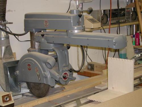 """Photo Index - Delta Manufacturing Co. - 12"""" Radial arm Saw ..."""