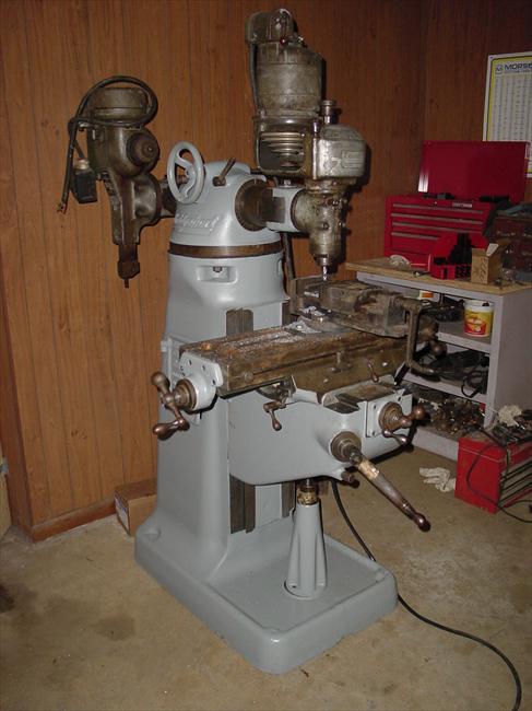 Photo Index Bridgeport Machines Inc Round Ram R Head