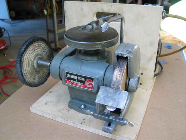 Photo Index Atlas Press Co 2410 Utility Grinder Hone