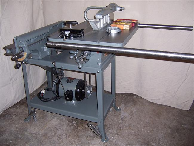 Photo Index Delta Manufacturing Co Table Saw Jointer