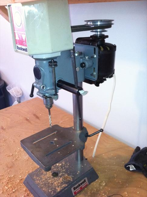 Photo Index Rockwell Manufacturing Co Bench Top Drill