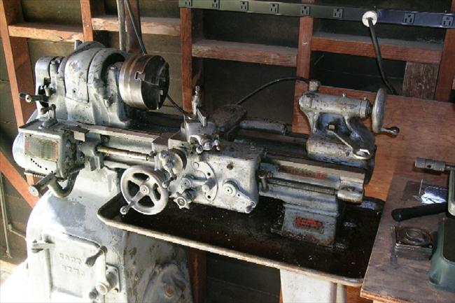 Photo Index South Bend Lathe Works Heavy 10