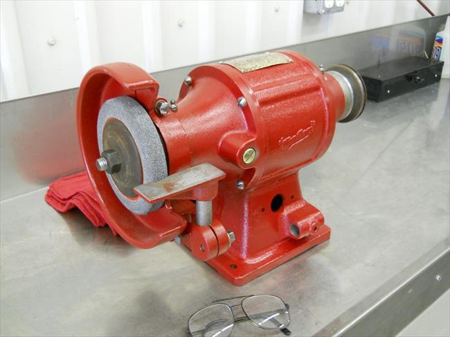 Photo Index Van Dorn Electric Tool Co Bench Grinder
