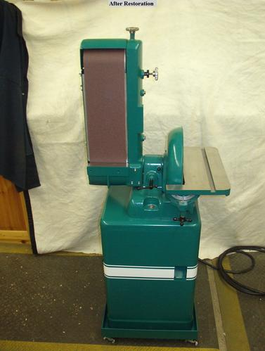 Belt sander machine parts