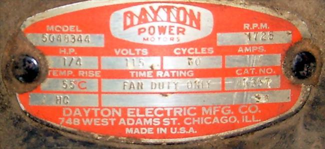 Photo Index Dayton Electric Manufacturing Co Dayton