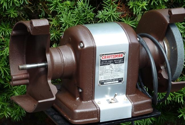 Photo Index Sears Craftsman 115 7566 Bench Grinder 1