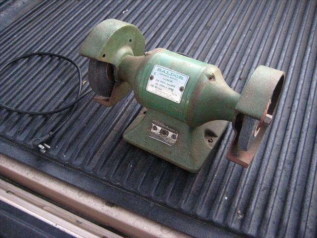 Photo Index Baldor Electric Co 660 Bench Grinder 1 3