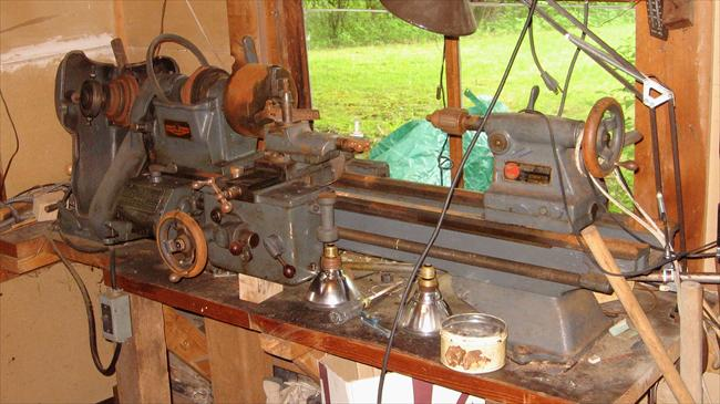 Photo Index - Clausing Lathe Co  - Model110, Mk3a | VintageMachinery org