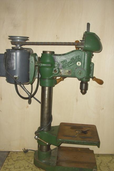 """Drill Press Guard >> Photo Index - Buffalo Forge Co. - 15"""" drill press ..."""