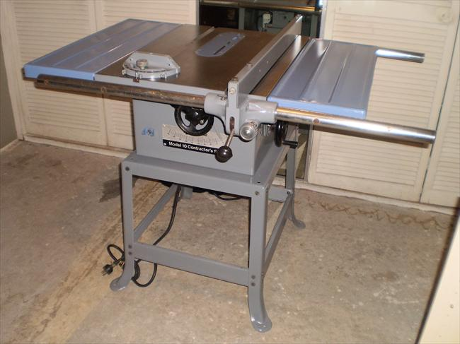Rockwell Model 10 Contractor Table Saw Design Ideas