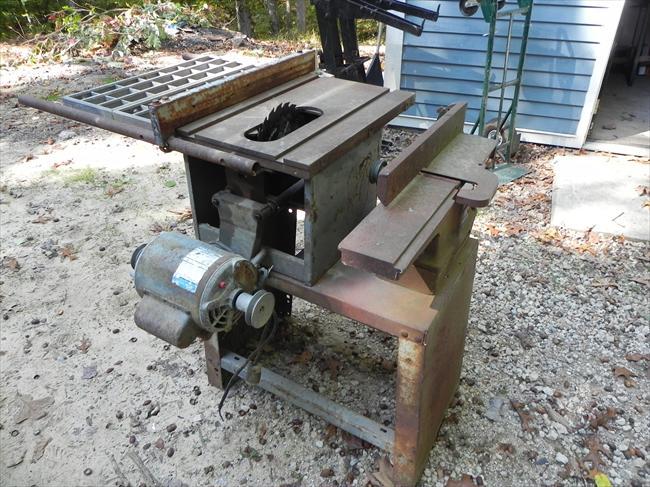 rockwell old markus repairing repair beaver an saw table