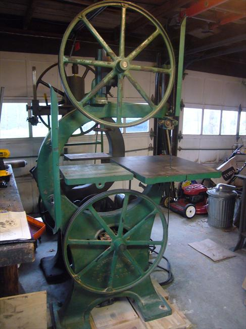 "Wheel Alignment Machine >> Photo Index - Crescent Machine Co. - 26"" Bandsaw ..."