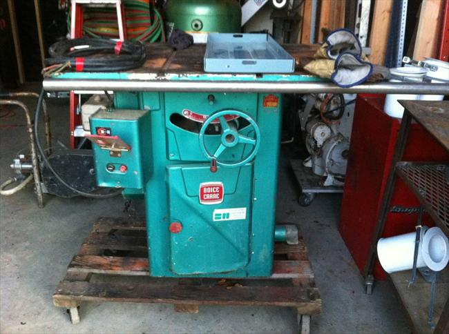 Photo Index - Boice-Crane Co. - ?10 in table saw ...