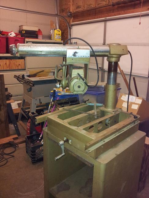 Photo Index Sears Craftsman 113 29001 10 Quot Radial Arm