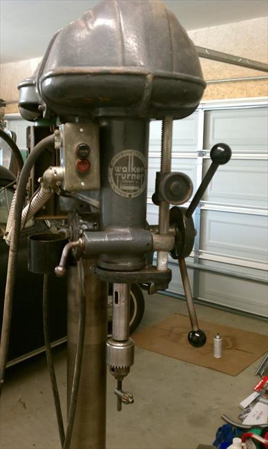 "Photo Index - Walker-Turner Co., Inc. - 20"" floor drill ..."