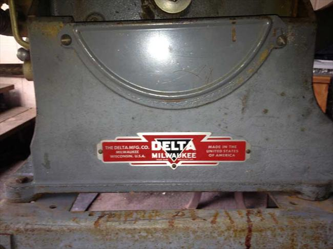 Photo Index Delta Manufacturing Co 1160 10 Inch