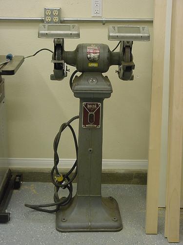 Photo Index Delta Manufacturing Co Pedestal Grinder