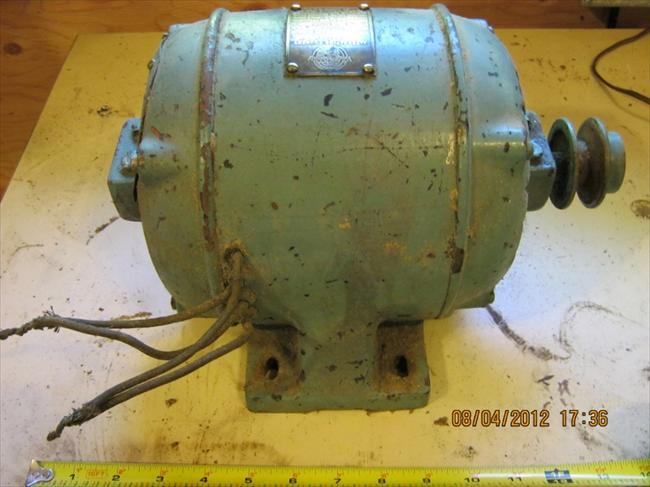 Vintage Wagner Electric Motor