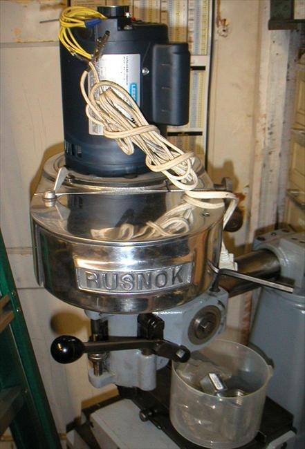 rusnok milling machine for sale