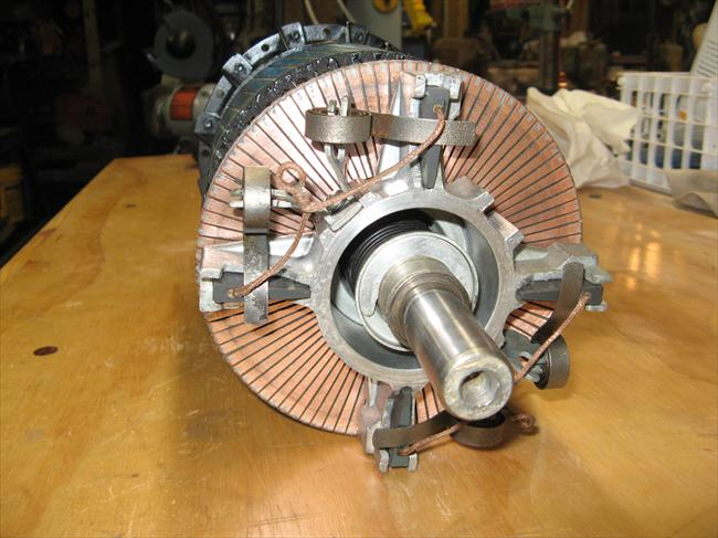 Photo Index - Wagner Electric Corp. - AC Repulsion Induction motor on