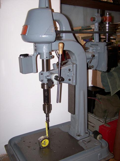 Photo Index Canedy Otto Manufacturing Co Bench Drill