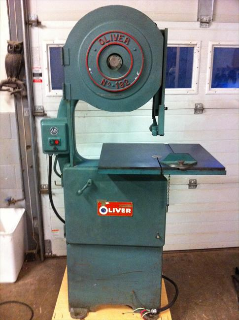 Photo Index Oliver Machinery Co Oliver 192 Band Saw
