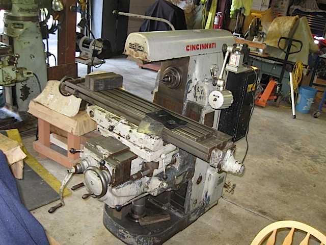 cincinnati milling machine co