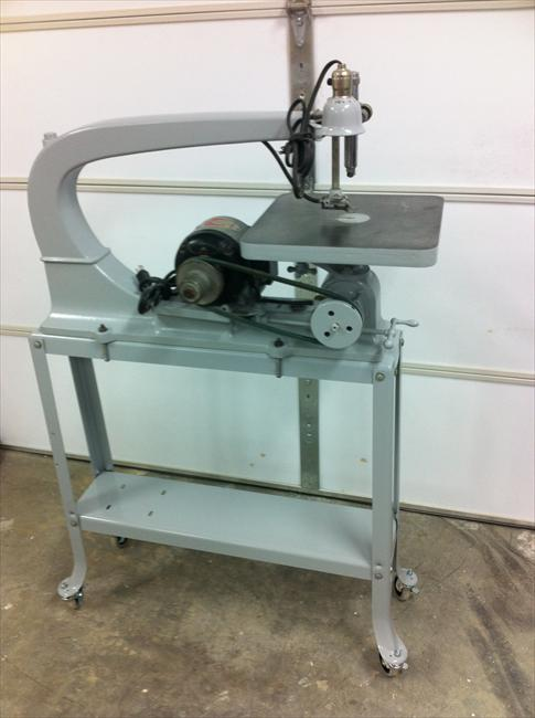 Photo Index Delta Manufacturing Co Delta Scroll Saw
