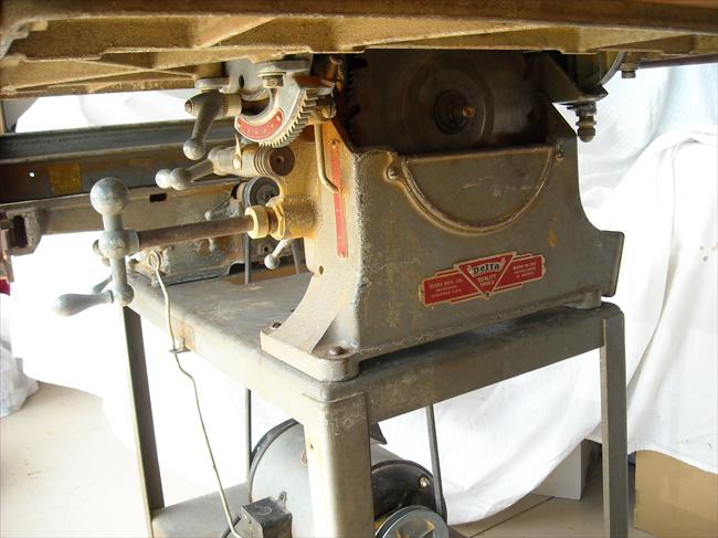 Photo Index Delta Manufacturing Co Delta Table Saw