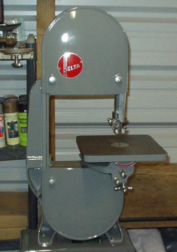 photo index delta manufacturing co no 768 10 band saw