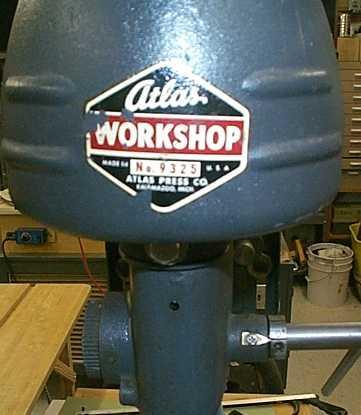 Photo Index Atlas Press Co 9325 Quot Workshop Quot Bench