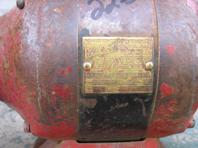 Photo Index Van Dorn Electric Tool Co Ball Bearing